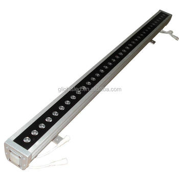 High power outdoor rgbw 36W led wall washer