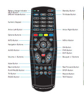 New products 2016 set top box remote control for dreambox 800 hd se clone