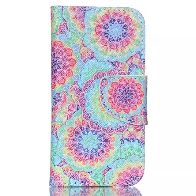 Printing Flip Leather Wallet Cover Case For iPod Touch 5th 6th Gen