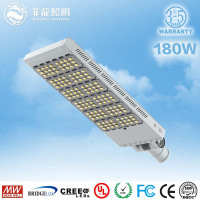 Super brightness 180w 200W 300w led street light Bridgelux IP65 street light application outdoor lighting Meanwell driver