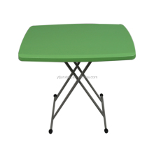 adjustable small plastic travel folding table