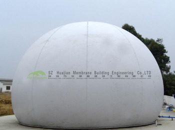 PTFE PVDF Double Membrane Gas Tank for medium-sized methane project