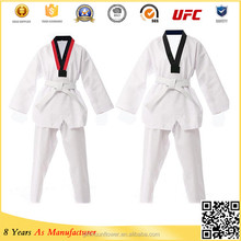 Wholesale Custom Taekwondo Uniform / Martial arts clothing cotton karate uniform /WTF Suit