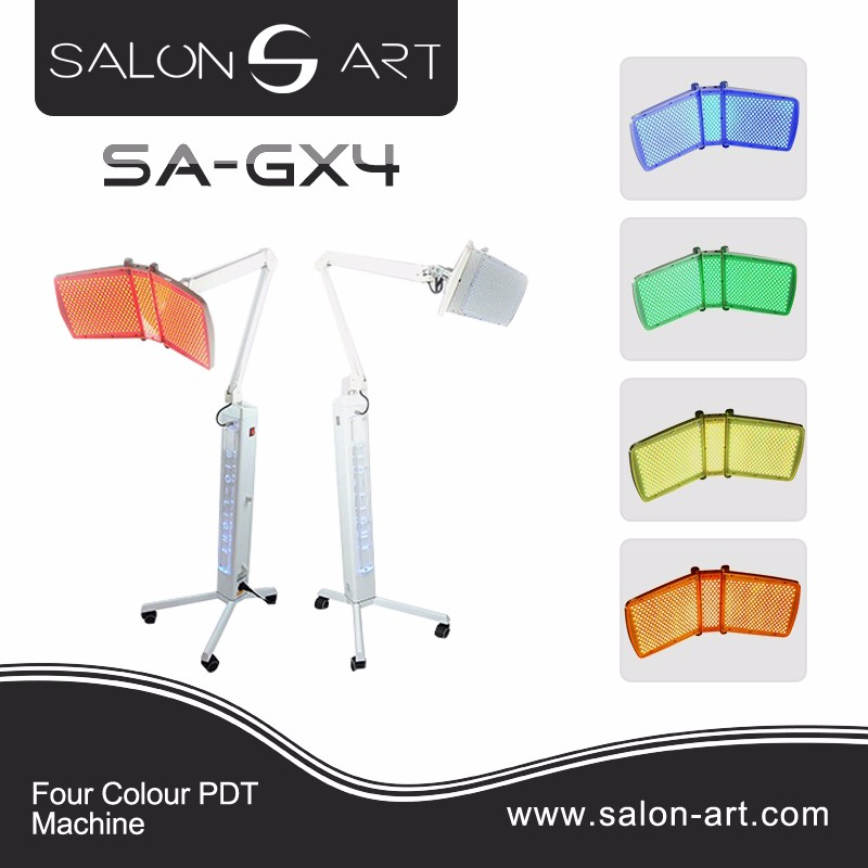 News!!4 color led light therapy photon skin rejuvenation beauty equipment SA-DX4