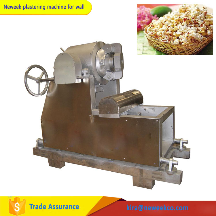 NEWEEK with timer air steam snack making puffed rice machine for sale