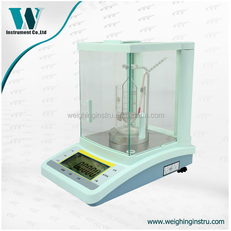 0.1mg analytical chemical electronic specific gravity balance