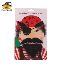 Fashion Pirate Fake Moustache and Eyebrow For Party Decoration