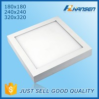 Hot product surface mounted 20W smd 2835 led ceiling lamp lighting aluminum plate and acrylic cover