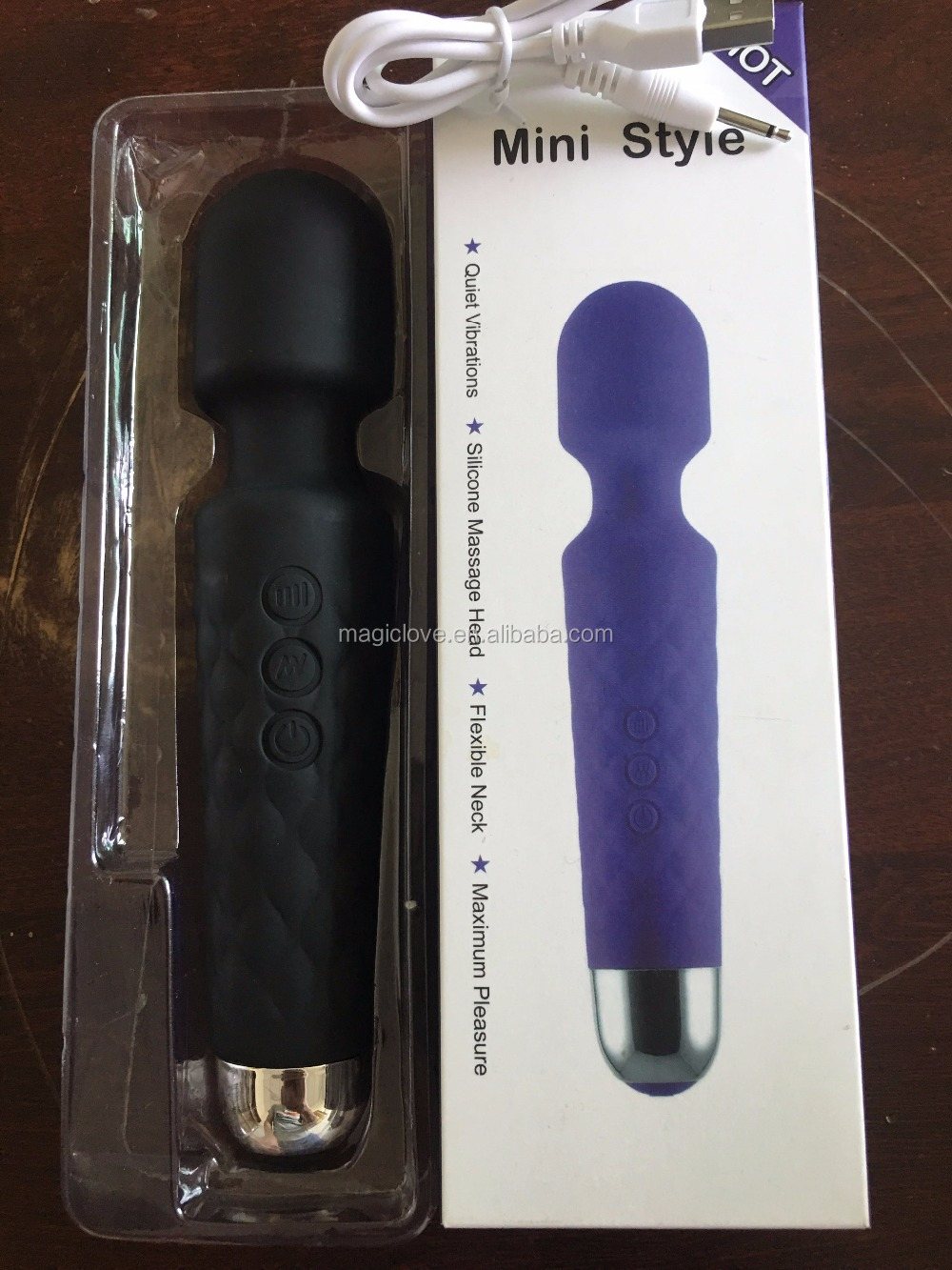 Beautiful Purple Mermaid Vibrator,Sex Toy For Women