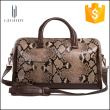genuine leather handbag best brand Gioddy Snake Skin design shoulder bag in Europe style designer bag