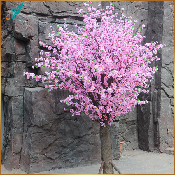 wedding decor plastic artificial cherry blossom tree on promotion