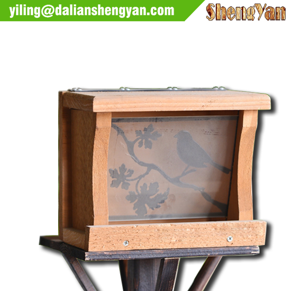 Acrylic Window Bird Feeder, Bird Feeder Parts