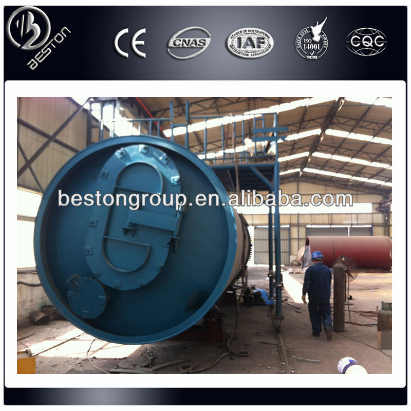 10T capacity solid waste to oil equipment with CE