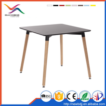 Cheap latest designs model MDF dining table with price