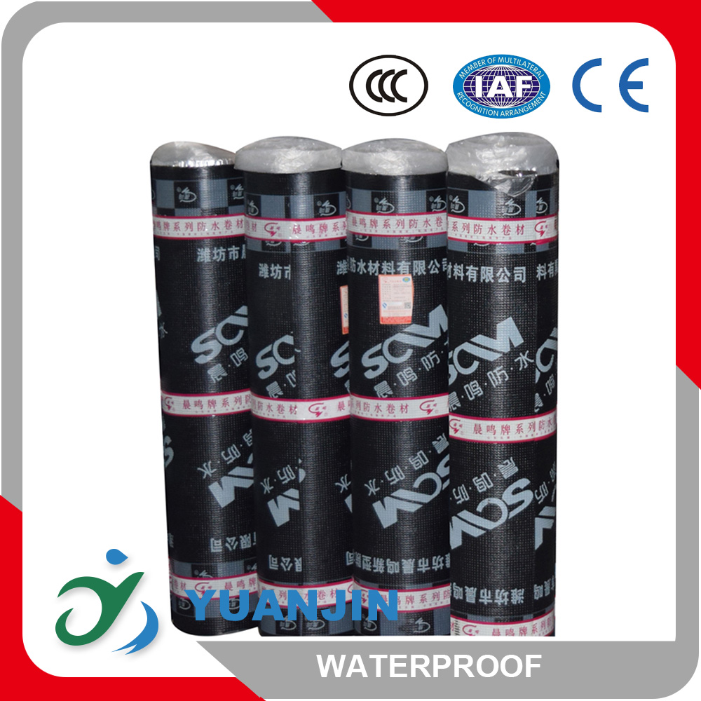 waterproof modified bitume coiled material waterproof modified asphalt ic membrane wall space use membrane