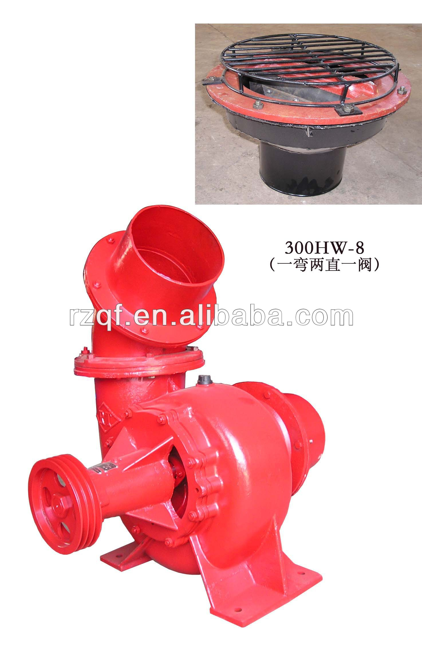 HW type series High quality Mixed- flow pump, agricultural spray pump
