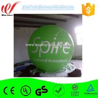 Green color printing advertising balloon,mini helium balloon,inflatable balloon Y4117