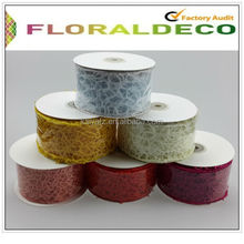 Organza Mesh Ribbon for flower packing gift wrappling