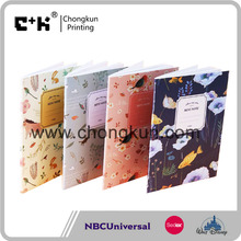 Cute Kawaii Cartoon Animal Notebook Lovely Flower Notepad for Kids Student Gift Korean Stationery