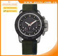 Top selling three eyes sport military quartz mens wrist watch