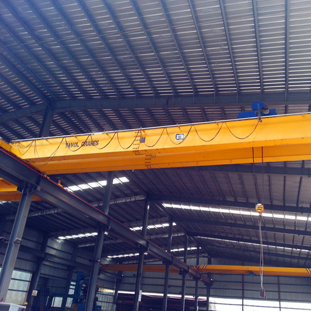 2017 hot sales double girder traveling crane with china supplier