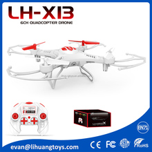 Toys Wholesale China Newest Drone 2.4G 6-Axis Drone Rolling Stunt RC Drone Quadcopter with LED Light LH-X13S