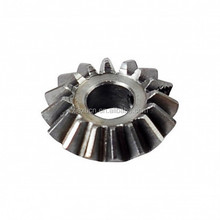 High quality small helical gear steel helical bevel gear for mechanical parts HKAA manufacturer