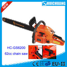 Garden tools pruning saw 62cc 2.7kw gasoline chain saw