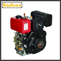 4 stroke air cooled time top quality kick start 15 hp diesel engine