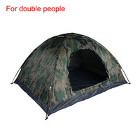 Camo hunting military camping tent
