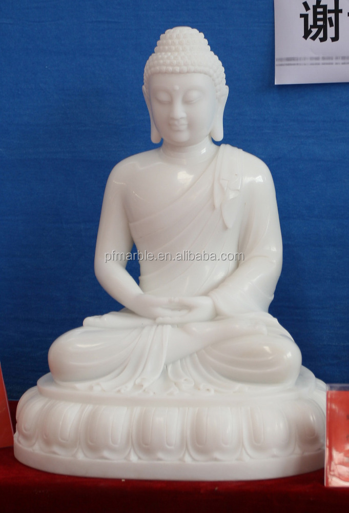 PFM natural stone hand carved buddha statue stone garden