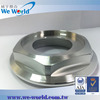 High precision aluminum spin finish parts