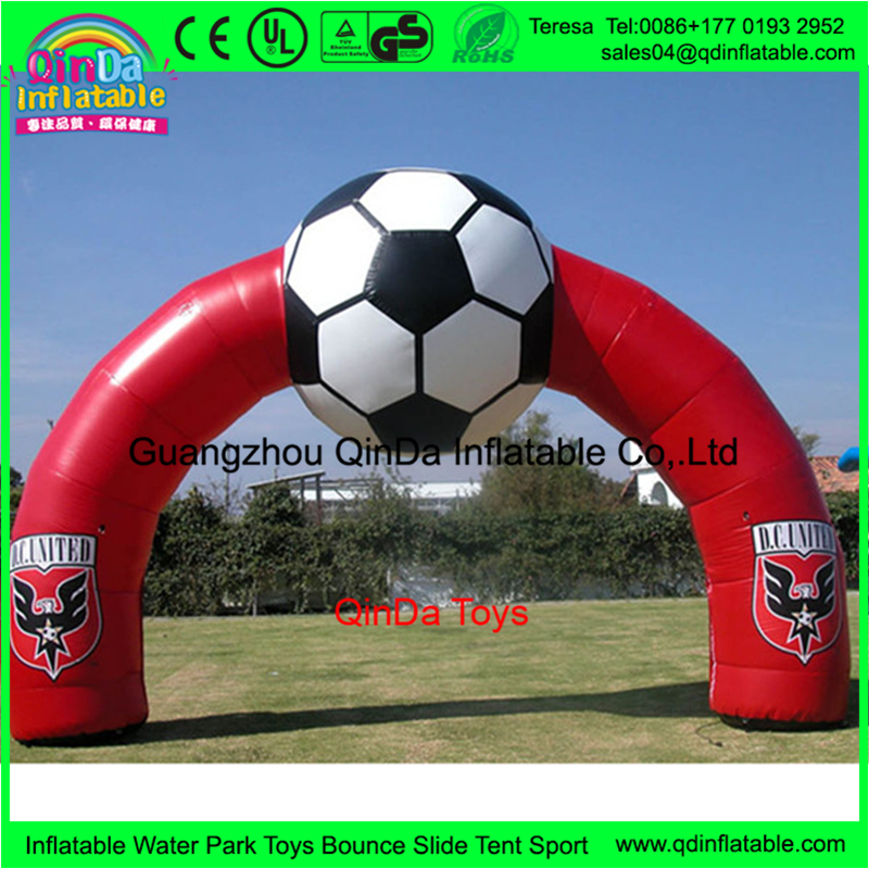 Racing Inflatable Arch Giant Define Arch For Event Finish Line Advertisement