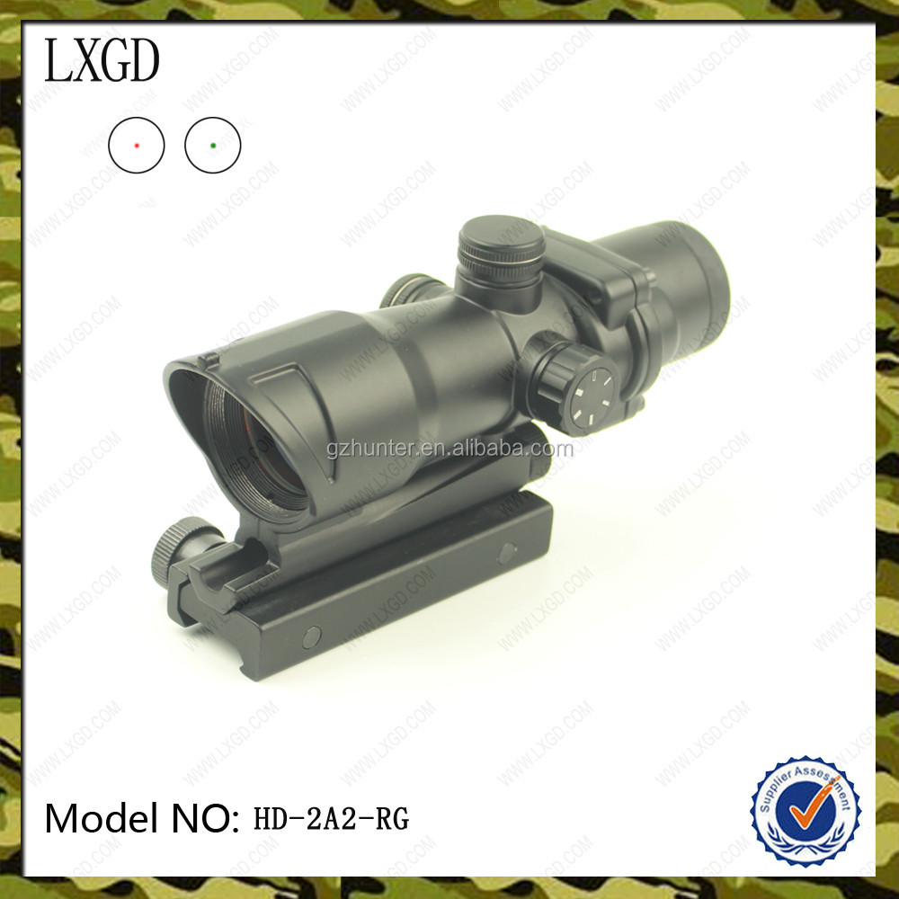 HD-2A2-R New 2016 Red Dot Sight Optics Durable Construction Picatinny rail Mount