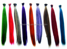 16'' Multicolour Rooster Feather Hair Extensions