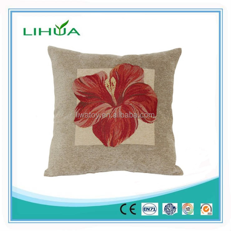 Pineapple Bird of Paradise Red Hibiscus Decorative pillow