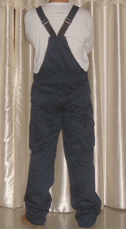 T/C twill working bib pant overall