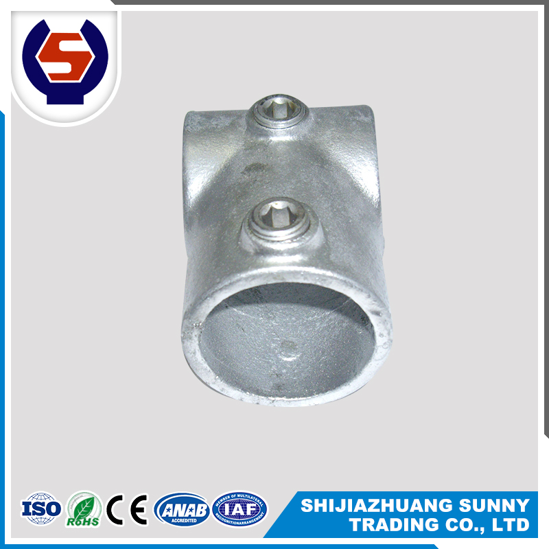 High Quality Cast Malleable Iron Pipe Clamp On Pipe Fittings
