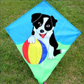 doggie embroidered kite for kids
