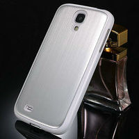 wholesale 2013 Hot selling brushed metal case for samsung galaxy s4 back case for samsung galaxy s4 i9500