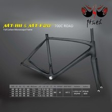 Hot sale!700C 100% full carbon 49 52 54 56 cm PF30-68 BB30 road bicycle frame