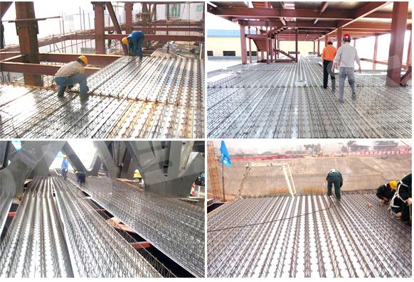 Steel Decking Slab : Rebar truss girder steel decking prices buy