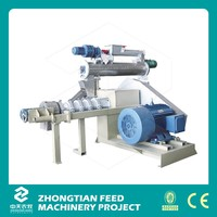 ZTMTfish feed extruder/pet food extruding /pet animal food processing machine