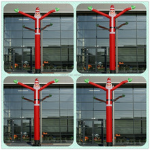 Santa claus mini inflatable air tube man for outdoor inflatable advertising air dancer