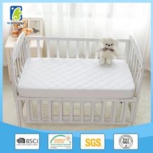 BEST QUALITY Pack N Play Waterproof Mattress Pad - Fits ALL Mini/Portable Cribs - Hypoallergenic, Breathable & PVC-Free Silky