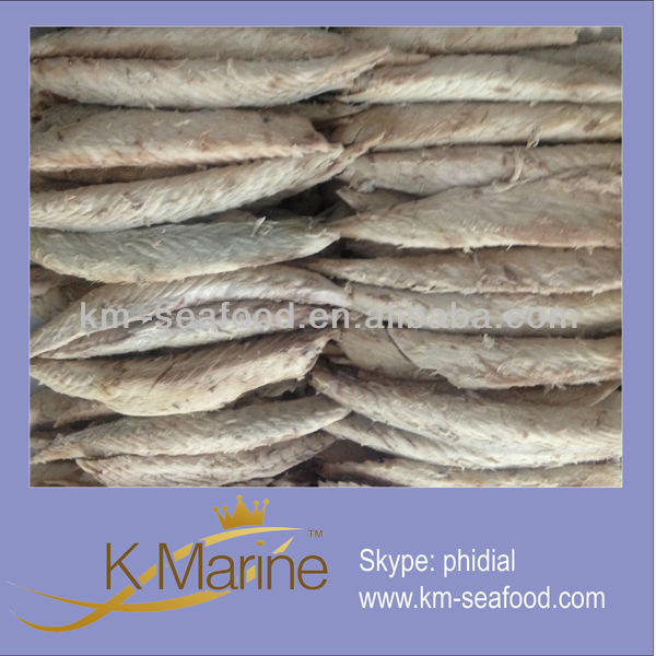 Precooked fish mackerel fillets clean and good quality