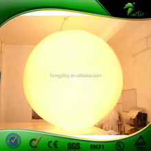 Fashion Inflatable Stand Led Balloon Light / Balloon Stand For Decoration