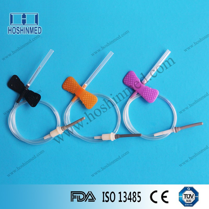 Blood Donor Needle Safety Butterfly Blood Collection Needle For Sale