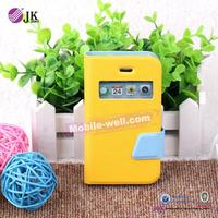 Hot Selling PC+PU cell phone accessory,for iphone 4 mobile phone accessory