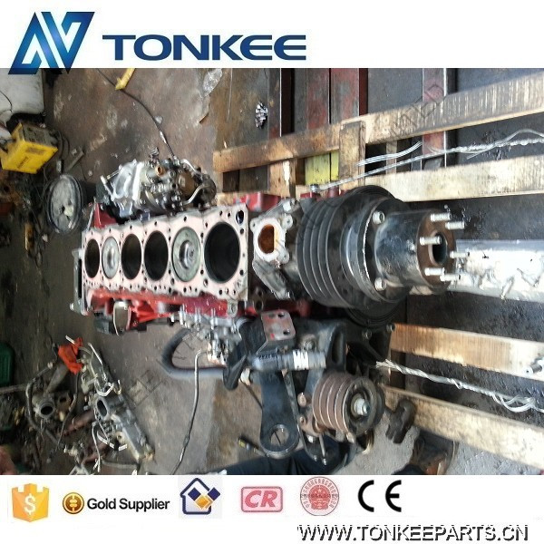 SK350-8 engine short block J08E short block for KOBELCO